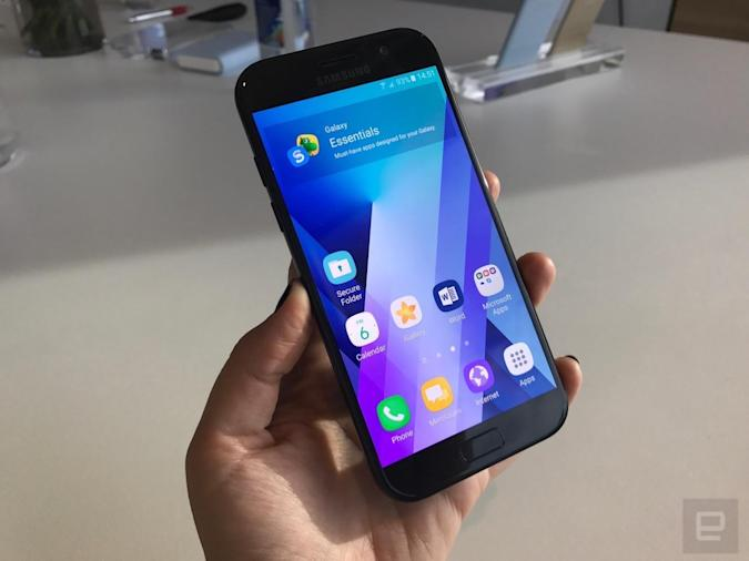 Un vistazo de cerca a los nuevos Samsung Galaxy A (2017)