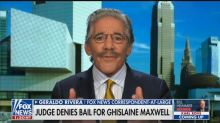 Geraldo Rivera Blasts Judge for Denying Bail to Ghislaine Maxwell: She 'Chickened Out'