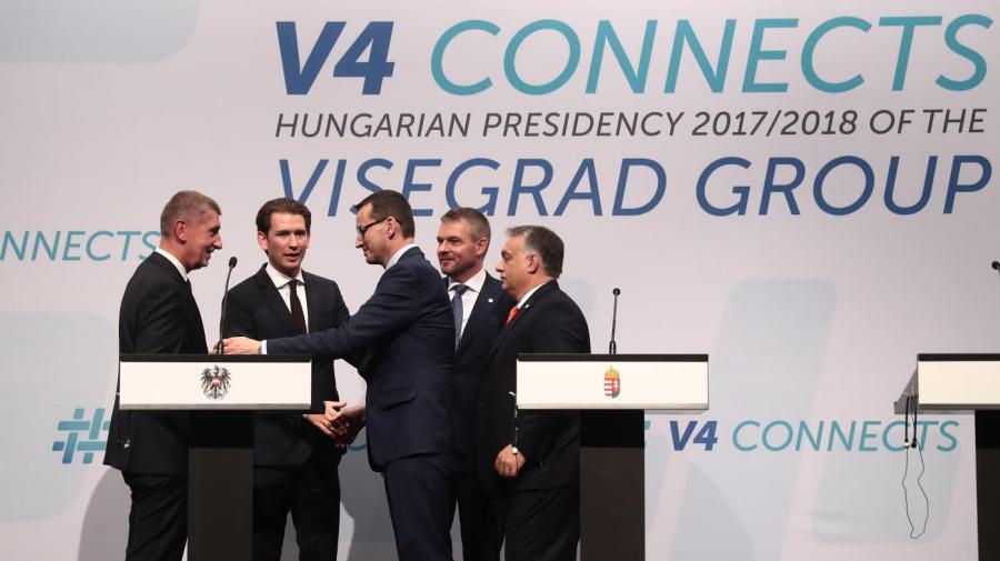 Migranti, Visegrad-Austria: Rafforzare frontiere Ue. Ma distanza su quote