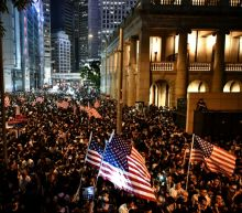 US senator warns Hong Kong becoming 'police state' as thousands rally