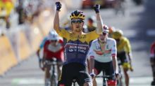 Roglic wins Tour mountain stage, Alaphilippe stays in yellow