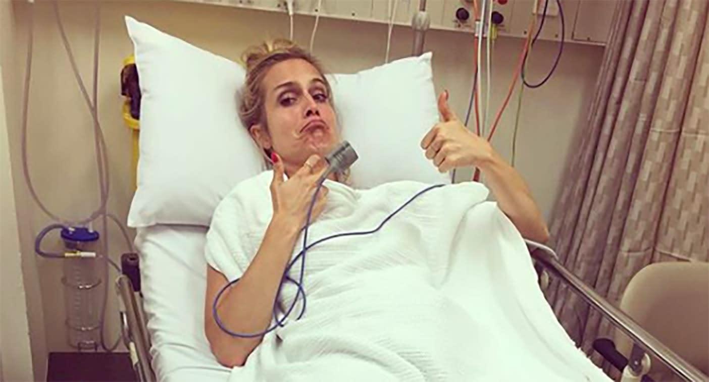 Rtl Moderatorin Nach Unfall Im Krankenhaus