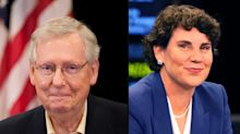 Poll shows Mitch McConnell with large lead over Democratic Senate rival Amy McGrath