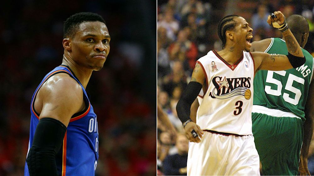 NBA playoffs 2017: How Russell Westbrook's Thunder can become Allen Iverson's Sixers
