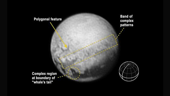 Pluto's latest photo shows geologic features