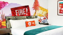 Taco Bell's pop-up hotel was fully booked in two minutes