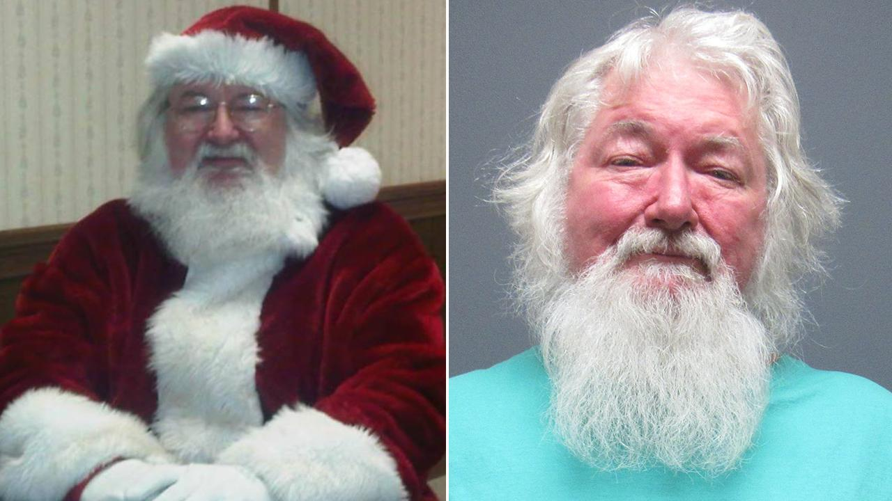 'Santa Claus,' 66, Arrested With Crack Pipe and Empty Bags of Drugs in His Car: Cops