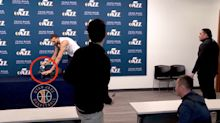 NBA Star With Coronavirus Touched Every Reporter's Mic As A Joke