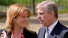 Sarah Ferguson pays secret visit to Prince Andrew at Buckingham Palace