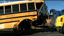 School Bus Crash With Alleged Drunken Driver Raises Questions About Seat-Belt Law