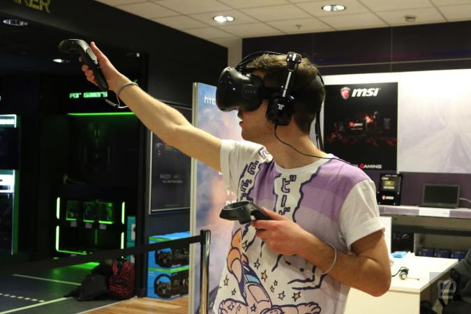This is how HTC will sell the Vive to the British public
