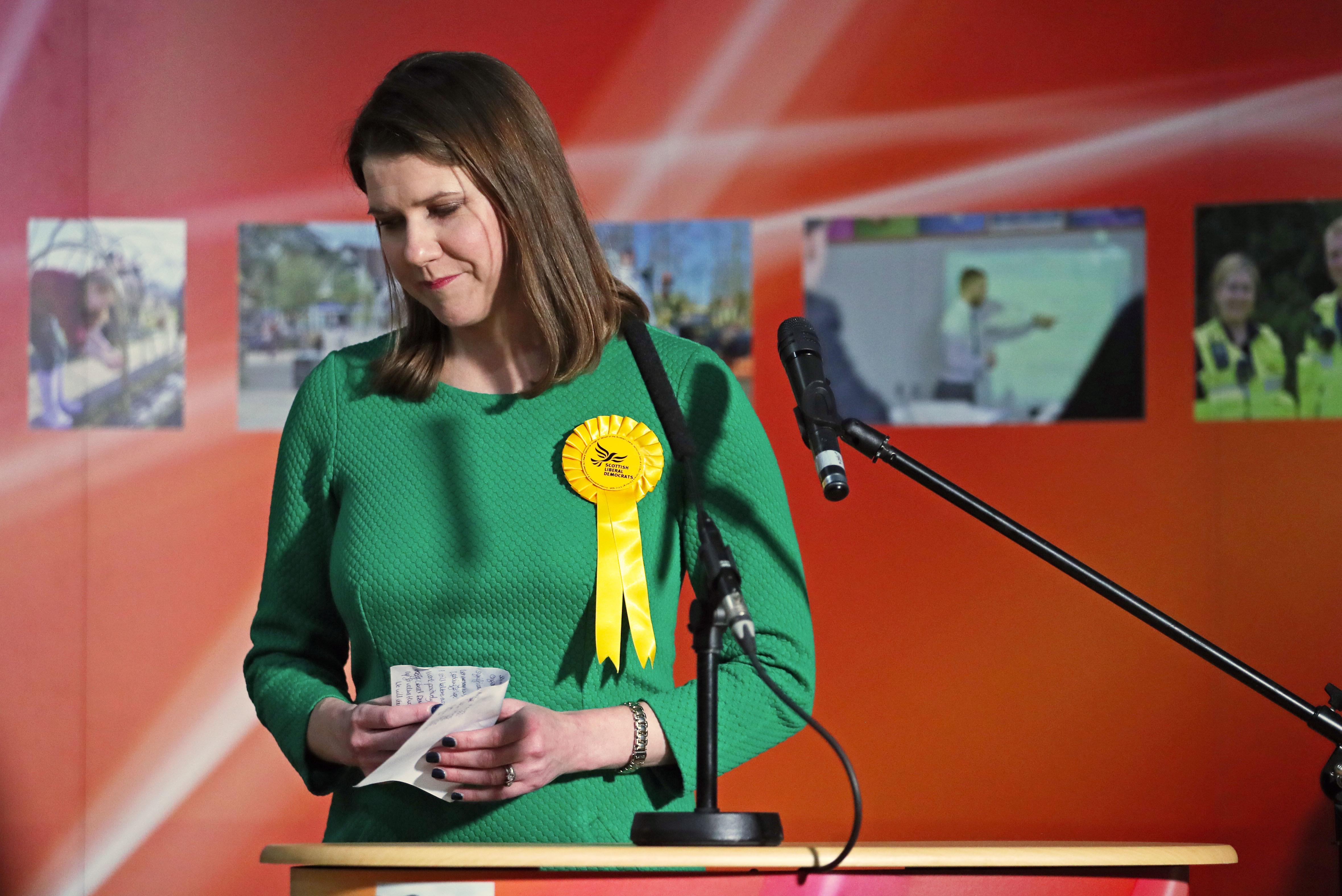 Jo Swinson criticised by former Lib Dem deputy for making 'wrong decisions' after losing seat