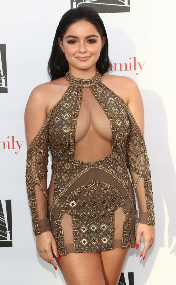Ariel Winter on the red carpet.