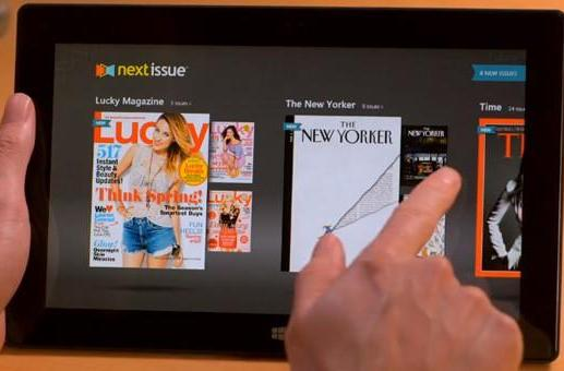 Next Issue Media reaches Windows 8, puts subscriptions on your Surface (video)