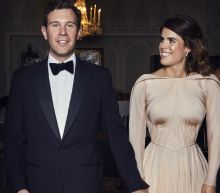 Princess Eugenie Wowed In Her 'English Rose' Wedding Reception Gown
