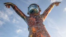The Unlikely Story of How This Giant Spaceman Landed in the Caribbean