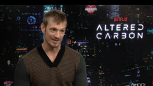 Altered Carbon's Joel Kinnaman thinks Donald Trump is inspiring dystopian fiction (EXCLUSIVE)