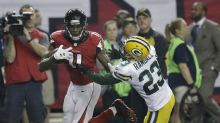 Watch Julio Jones stiff-arm the Packers into oblivion on a great 73-yard touchdown