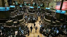 Stock market news live updates: Stocks end week on 4-day win streak, Dow closes above 35K