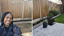 Money-saving gardening hacks: Woman reveals how she transformed her patio for just £38 (and it only took three hours)