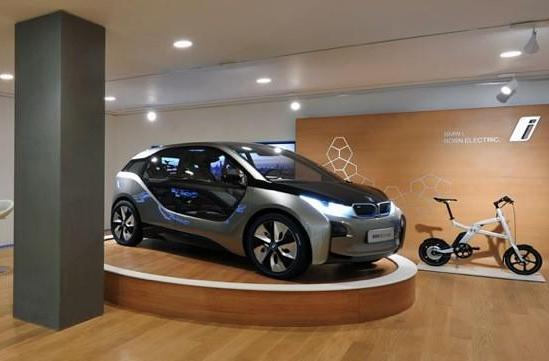 BMW opens i Store in sync with London Olympics, shows tourists their electric destiny
