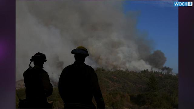 Central California Wildfire Burns Out Of Control, Threatens 100 Homes