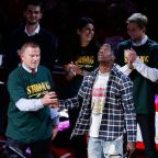 Travis Scott Tells Santa Fe High School Students They're the Strongest People on Earth