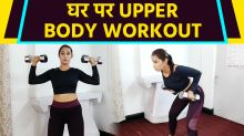 Upper Body Workout with Dumbbels by Diksha Chhabra