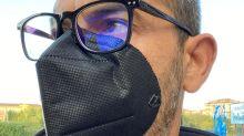 Inventor en busca de financiación presenta la mascarilla magnética con gafas que no se empañan