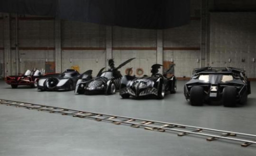 Batmobiles Through the Years