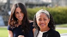 Meghan Markle and mom step out ahead of royal wedding