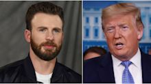 Chris Evans Blasts Trump's Response to Epidemic: 'America Wants Leadership'