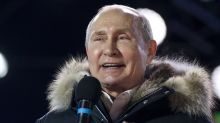 Stimmen zu Wladimir Putins Wahlsieg in Russland