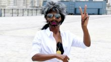 Sinitta turns up to X Factor 2018 press conference dressed as Simon Cowell
