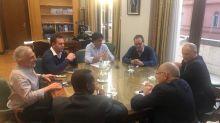 Primer encuentro entre el FMI y Lacunza como nuevo ministro de Hacienda