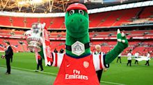 Mesut Ozil offers to pay full wages of man inside Arsenal's Gunnersaurus mascot