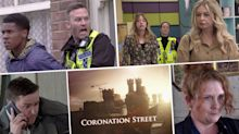 Next week on 'Coronation Street': Racist police attack on James, plus Todd is arrested and Summer is in danger  (spoilers)
