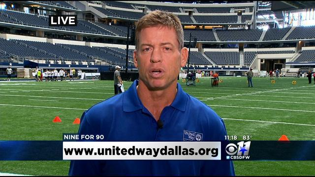 Troy Aikman & United Way Team Up To Fight Childhood Obesity