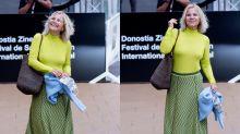Eugenia Martínez de Irujo suspende con su look a su llegada al Festival de San Sebastián 2020