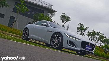 【新車圖輯】難以忘卻的我流情懷!2021 Jaguar F-Type Coupe P300 R-dynamic八里左岸試駕