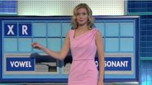 Rachel Riley suffers wardrobe malfunction as she goes BRALESS for Countdown