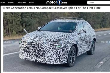 動力多選擇、還有全新大螢幕,新一代 Lexus NX 準備登場!