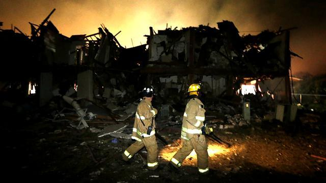 Many killed in Texas explosion were firefighters