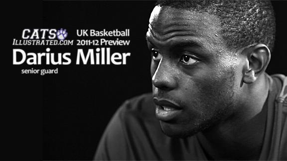 UK Basketball 2011-12: Darius Miller