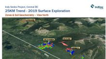 InZinc Announces Sedex Exploration Results at Indy BC: 1.5km Delta Horizon Discovered