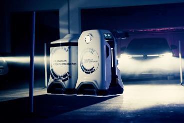 固定式充電樁將成歷史?福斯集團發表移動式充電機器人概念