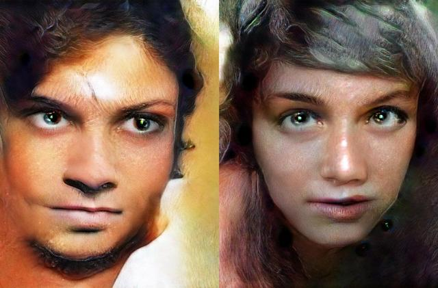 Artistic AI paints portraits of people who aren't really there