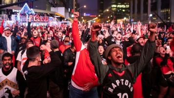 Canada rejoices Raptors' NBA Finals berth