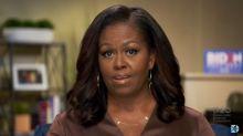 Trump responde a Michelle Obama que sin su esposo él no sería presidente