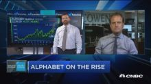 Trading Nation: Alphabet on the rise